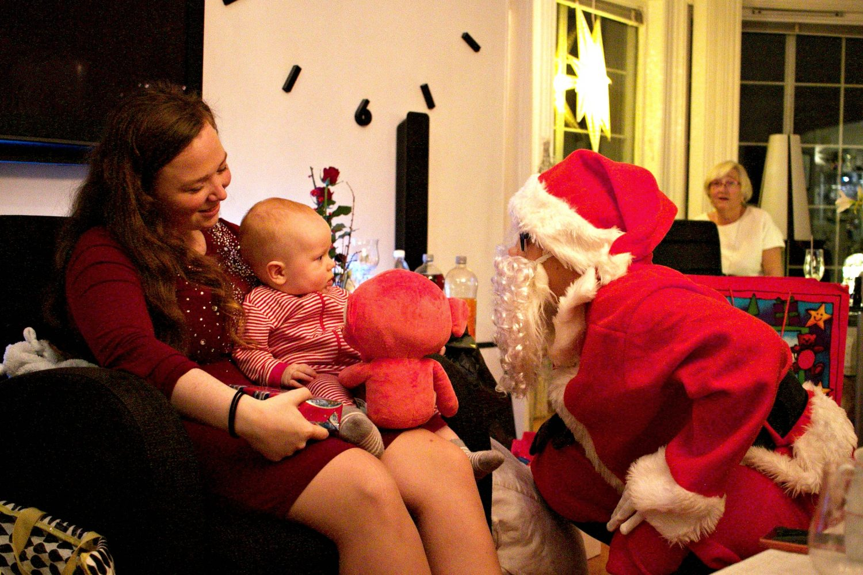 Den aller første julaften!