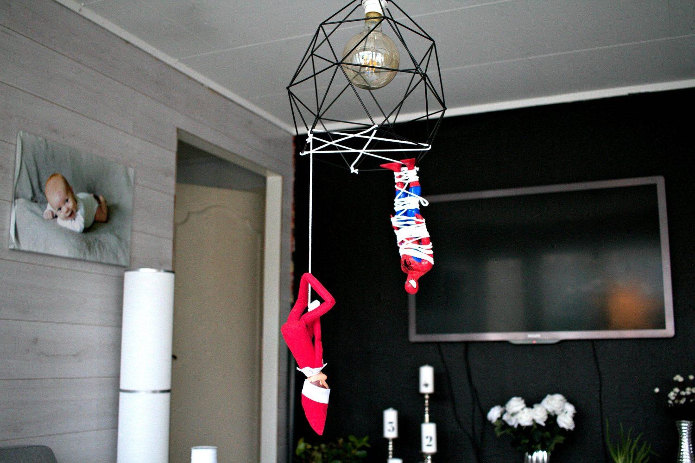 Rampenissen har fanget spiderman!