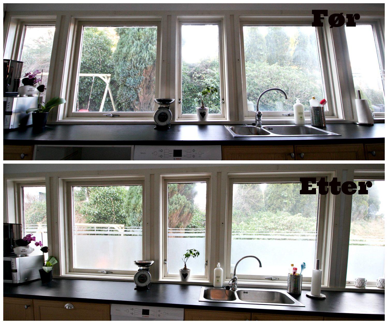 Moderne vindusskjerming på 10 minutter!