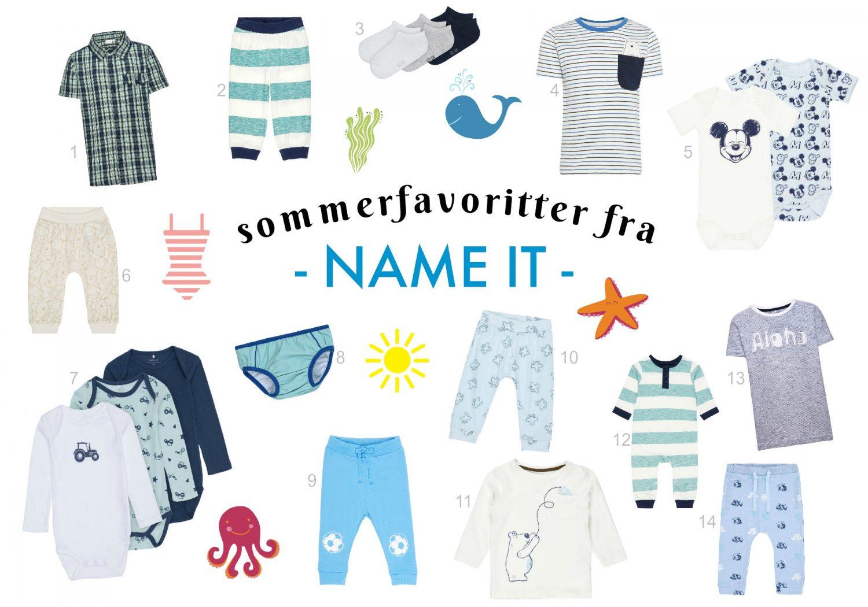 Sommerfavoritter fra Name It
